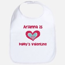 Arianna Is Daddy's Valentine Bib