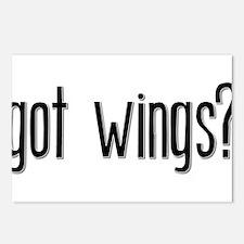 Got Wings? Postcards (Package of 8)