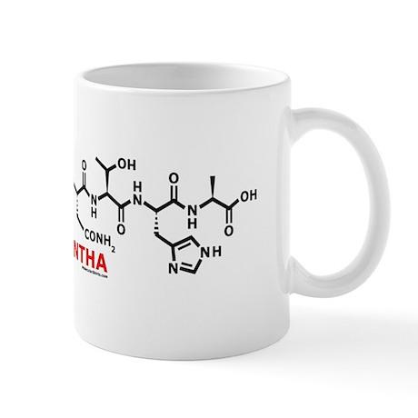 Samantha name molecule Mug
