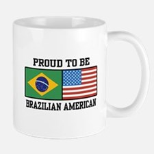 Proud Brazilian American Mug
