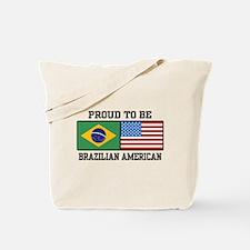 Proud Brazilian American Tote Bag
