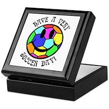 Soccer Day Keepsake Box