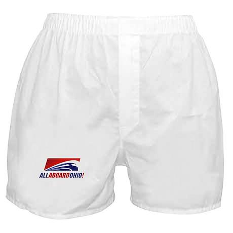 All Aboard Ohio Boxer Shorts