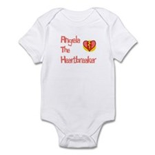 Angela the Heartbreaker Infant Bodysuit