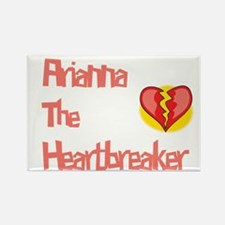 Arianna the Heartbreaker Rectangle Magnet