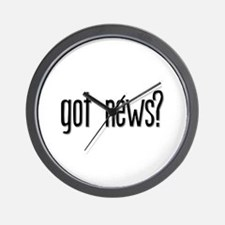 Got News? Wall Clock