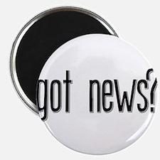 """Got News? 2.25"""" Magnet (100 pack)"""