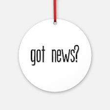 Got News? Keepsake (Round)
