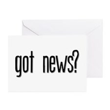 Got News? Greeting Cards (Pk of 10)