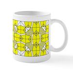 Yellow Owls Design Mug