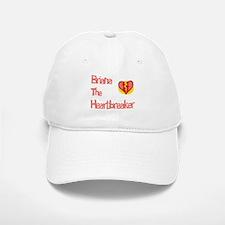 Brianna the Heartbreaker Baseball Baseball Cap