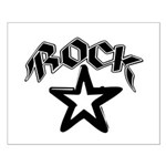 Rock Star Small Poster