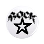 "Rock Star 3.5"" Button"