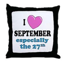 PH 9/27 Throw Pillow