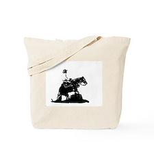 Reining Horse Tote Bag