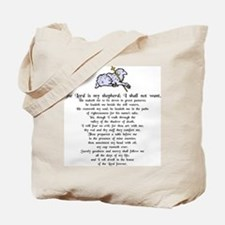 """Lord is My Shepherd"" Tote Bag"