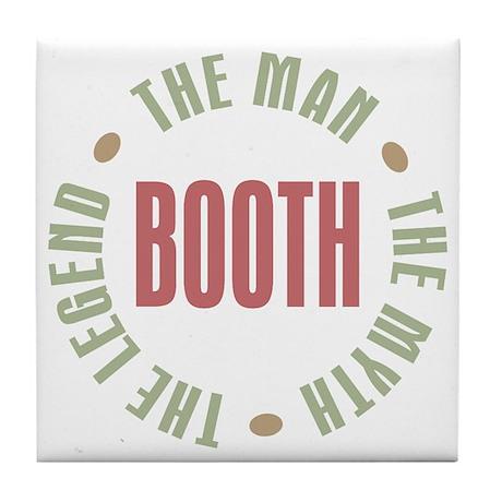 Booth Man Myth Legend Tile Coaster