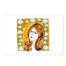 Lady Spring Postcards (Package of 8)