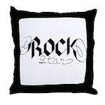 Rock Star part deux Throw Pillow