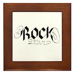 Rock Star part deux Framed Tile