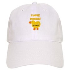 I Love Ducks Baseball Cap