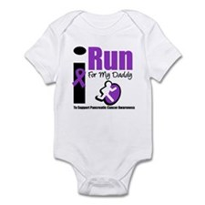 Purple Ribbon Hero Infant Bodysuit