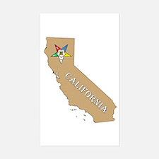 California OES Rectangle Decal