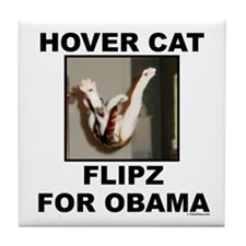 Flipz 4 Obama Tile Coaster