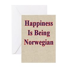 Norwegian Humorous Greeting Card