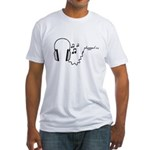 plugged in... Fitted T-Shirt