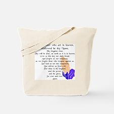 Lord's Prayer Tote Bag