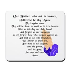 Lord's Prayer Mousepad
