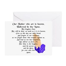 Lord's Prayer Greeting Cards (Pk of 10)