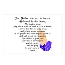 Lord's Prayer Postcards (Package of 8)