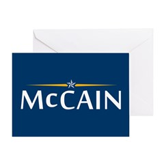 McCain For President Greeting Card