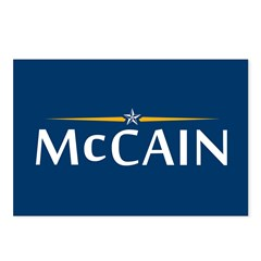 McCain For President Postcards (Package of 8)