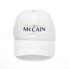 McCain For President Baseball Cap