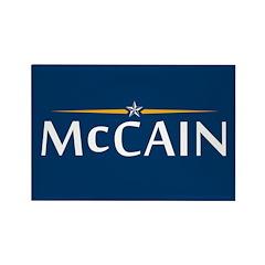 McCain For President Rectangle Magnet (10 pack)