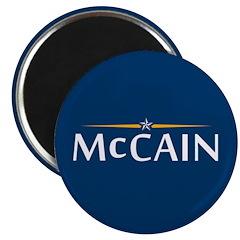 """McCain For President 2.25"""" Magnet (10 pack)"""