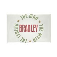Bradley Man Myth Legend Rectangle Magnet