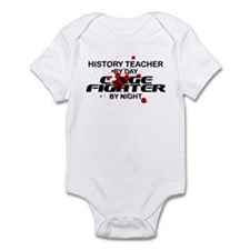 History Tchr Cage FIghter by Night Infant Bodysuit