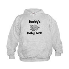 Daddy's Baby Girl Kids Hoodie