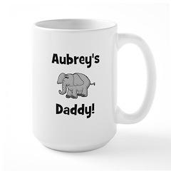 Aubrey's Daddy Elephant Mug
