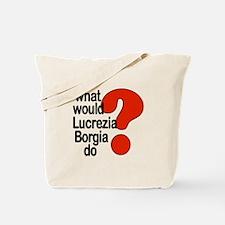Lucrezia Borgia Tote Bag