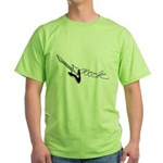 Guitar Rock Green T-Shirt