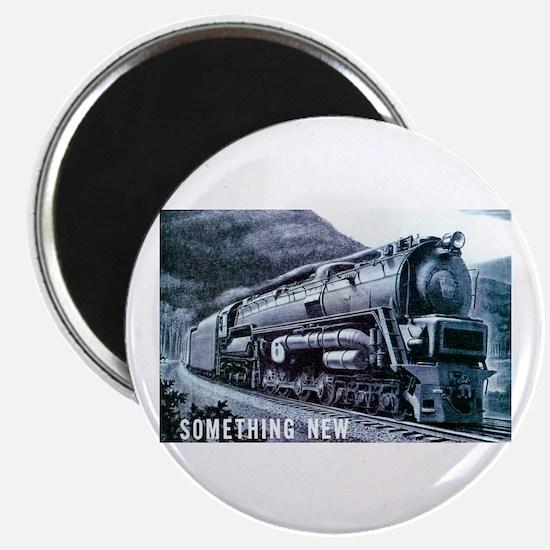 Baldwin S-2 Steam Locomotive Magnet