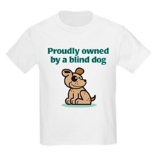 Proudly Owned (Dog) Kids T-Shirt