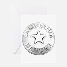California Ranger Greeting Card