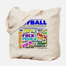 Canine Flyball Tote Bag