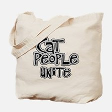 Cat people unite Tote Bag